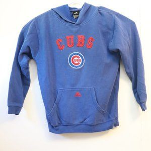 Adidas Blue Chicago Cubs Hoodie Size Kids XL